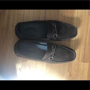 Salvatore Ferragamo Men's brown Loafer size 9.5